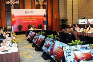 Hội nghị trực tuyến Bộ trưởng Kinh tế ASEAN ứng phó đại dịch COVID-19
