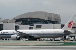 Mỹ dọa cấm cửa các hãng hàng không Trung Quốc