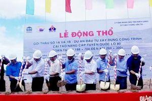 Kiên Giang: Trên 220 tỷ đồng cải tạo, nâng cấp QL80