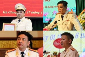 Chân dung 11 tân Giám đốc công an tỉnh vừa được điều động, bổ nhiệm