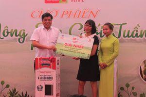 Hà Nội lần đầu tổ chức chợ phiên nông sản theo mô hình Thái Lan