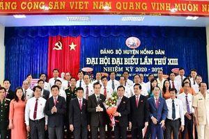Kết quả bầu trực tiếp Bí thư Huyện ủy đầu tiên ở Bạc Liêu