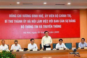 Hà Nội thúc đẩy phát triển đô thị thông minh