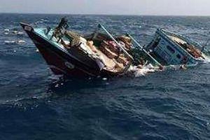Tàu Iran chìm bí ẩn trong lãnh hải Iraq