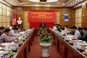 Đảng bộ Cơ quan Tập đoàn kiện toàn tổ chức, nâng cao chất lượng đảng viên