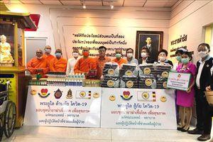 Chư tăng An Nam tông và kiều bào Thái Lan chung tay chống dịch COVID-19