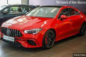 Mercedes-Benz CLA 45 S 4Matic+ ra mắt, giá 2,4 tỷ đồng