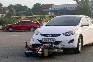 Video tai nạn giao thông ngày 5/6: Ông chết thảm trên đường chở cháu đi học