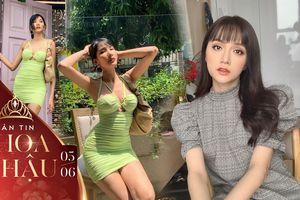 Diện váy khoe chân thon dài: Hương Giang đẹp dịu dàng - Hoàng Thùy gợi cảm hết nấc