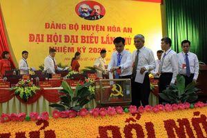 Đại hội Đảng bộ huyện Hòa An lần thứ XX, nhiệm kỳ 2020-2025 thành công tốt đẹp