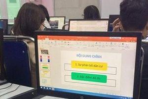 Phát hiện haker tấn công đợt khảo sát chất lượng học sinh lớp 12