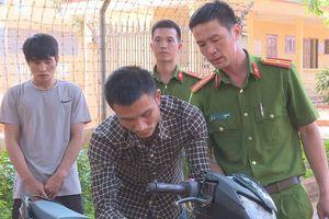 Đường dây trộm xe máy liên tỉnh của 4 thanh niên