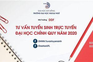 Trường ĐH Ngoại ngữ - ĐH Đà Nẵng tư vấn tuyến sinh trực tuyến