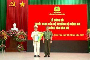 Chân dung tân Phó giám đốc Công an tỉnh Khánh Hòa