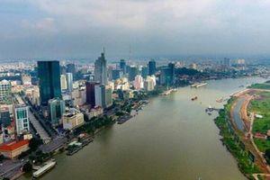 Vì sao thiết kế cầu đi bộ qua sông Sài Gòn có hình lá dừa nước?