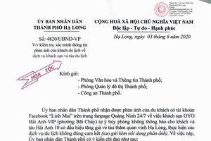 TP Hạ Long: Xử lý nghiêm chủ khách sạn và tàu du lịch thực hiện các dịch vụ không đúng cam kết