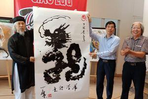 Giao lưu thư họa giữa các họa sĩ Quảng Ninh- Hải Phòng