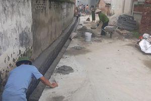 Vĩnh Phúc: Xã Hoàng Đan tích cực khắc phục ô nhiễm môi trường tại các khu dân cư