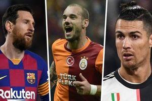 Sneijder: 'Tôi có thể xuất sắc như Messi và Ronaldo, nhưng... không thích'