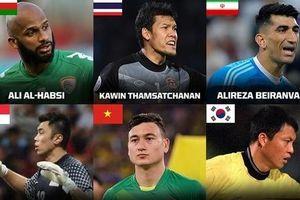 Đặng Văn Lâm lọt Top 9 thủ môn hay nhất châu Á