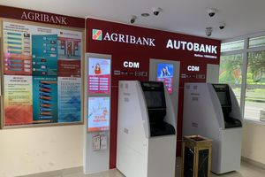 Agribank lắp thêm điểm giao dịch tự động Autobank CDM