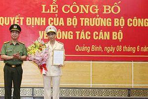Đại tá Phan Đăng Tĩnh làm Phó Giám đốc Công an tỉnh Quảng Bình