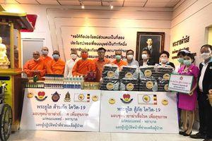 Chư tăng An Nam tông và người Việt tại Thái Lan chung tay chống dịch Covid-19