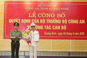 Trưởng phòng Bộ Công an được bổ nhiệm Phó Giám đốc Công an tỉnh Quảng Bình