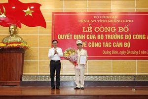 Quảng Bình: Bổ nhiệm chức danh Phó Giám đốc Công an tỉnh