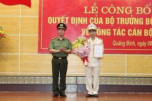 Điều động, bổ nhiệm lãnh đạo Công an Quảng Bình, Long An, Kiên Giang