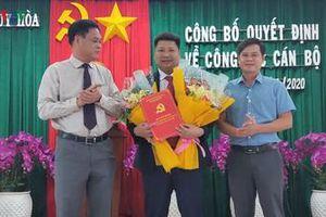 GĐ Ban Quản lý Dự án đầu tư xây dựng làm Phó Bí thư Thành ủy Tuy Hòa