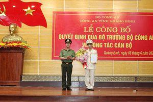 Chân dung tân Phó Giám đốc Công an tỉnh Quảng Bình