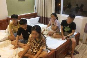 11 nam nữ thuê khách sạn sử dụng ma túy