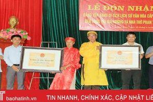 Thêm 2 di tích ở Nghi Xuân được công nhận di tích lịch sử văn hóa cấp tỉnh