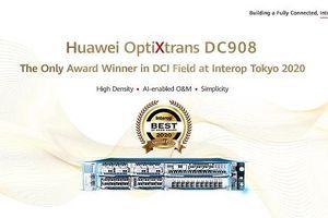 Huawei giành được 8 giải thưởng tại Interop Tokyo 2020