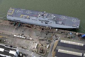 'Thiết kế thân tàu Mistral là của Nga'
