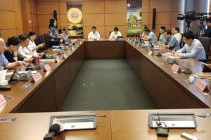 Đoàn ĐBQH tỉnh thảo luận tại tổ về tuyến cao tốc Bắc – Nam