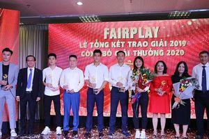 Toàn cảnh lễ trao giải Fair Play 2019, công bố Fair Play 2020