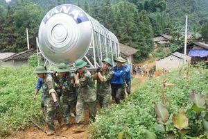 Thanh niên quân đội xung kích vì cộng đồng