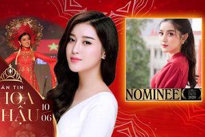 Huyền My là mỹ nhân Việt duy nhất lọt Top 100 danh hiệu gương mặt đẹp toàn thế giới 2020