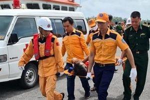 Khẩn trương tìm kiếm người trên tàu cá bị nạn tại vùng biển Hải Phòng