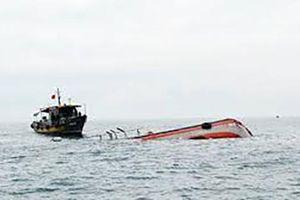 Va chạm giữa tàu chở khí đốt và tàu cá, 1 người tử nạn, 4 người mất tích