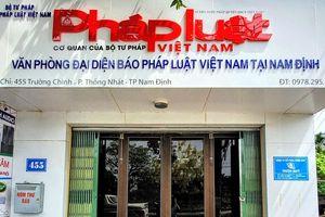 Báo Pháp luật Việt Nam ra mắt văn phòng đại diện tại Nam Định