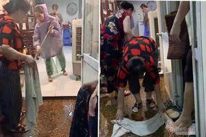Giải cứu khu dân cư mất cống: Sáng nghiệm thu đường ống, tối mưa lại ngập