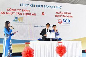 SCB tài trợ vốn dự án Khu công nghiệp An Nhựt Tân