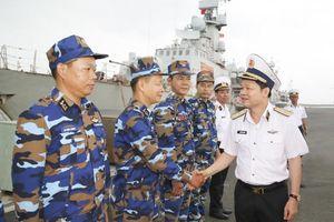 Bà Rịa - Vũng Tàu: Chính ủy Hải quân đến thăm và làm việc với Lữ đoàn 167, Lữ đoàn 171