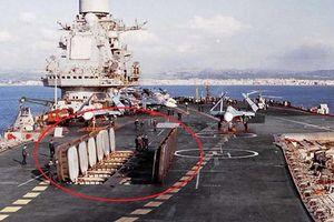Lý do Nga không tháo bỏ tên lửa trên boong tàu sân bay Kuznetsov