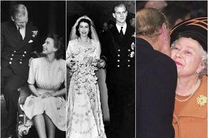Câu chuyện tình yêu qua ảnh của Nữ hoàng Anh Elizabeth II trong 73 năm hôn nhân