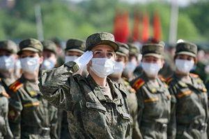 Nga diễn tập hoành tráng chuẩn bị cho lễ duyệt binh Ngày Chiến thắng