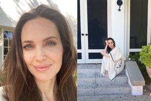 Angelina Jolie giản dị dưới ống kính con trai 11 tuổi